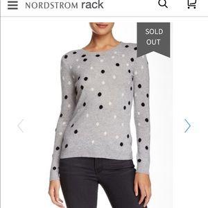 Premise Cashmere Polka Dot Sweater